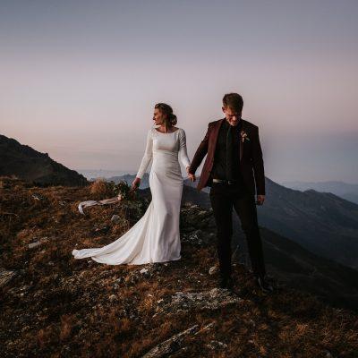 Hochzeit ganz intim in den Bergen Tirols ▷ BLITZKNEISSER